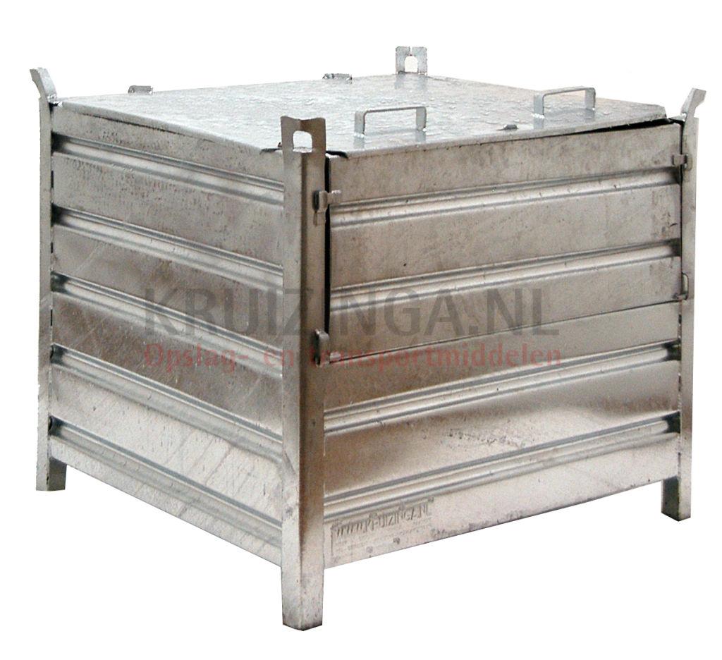 stapelboxen stahl feste konstruktion stapelbeh lter mit. Black Bedroom Furniture Sets. Home Design Ideas
