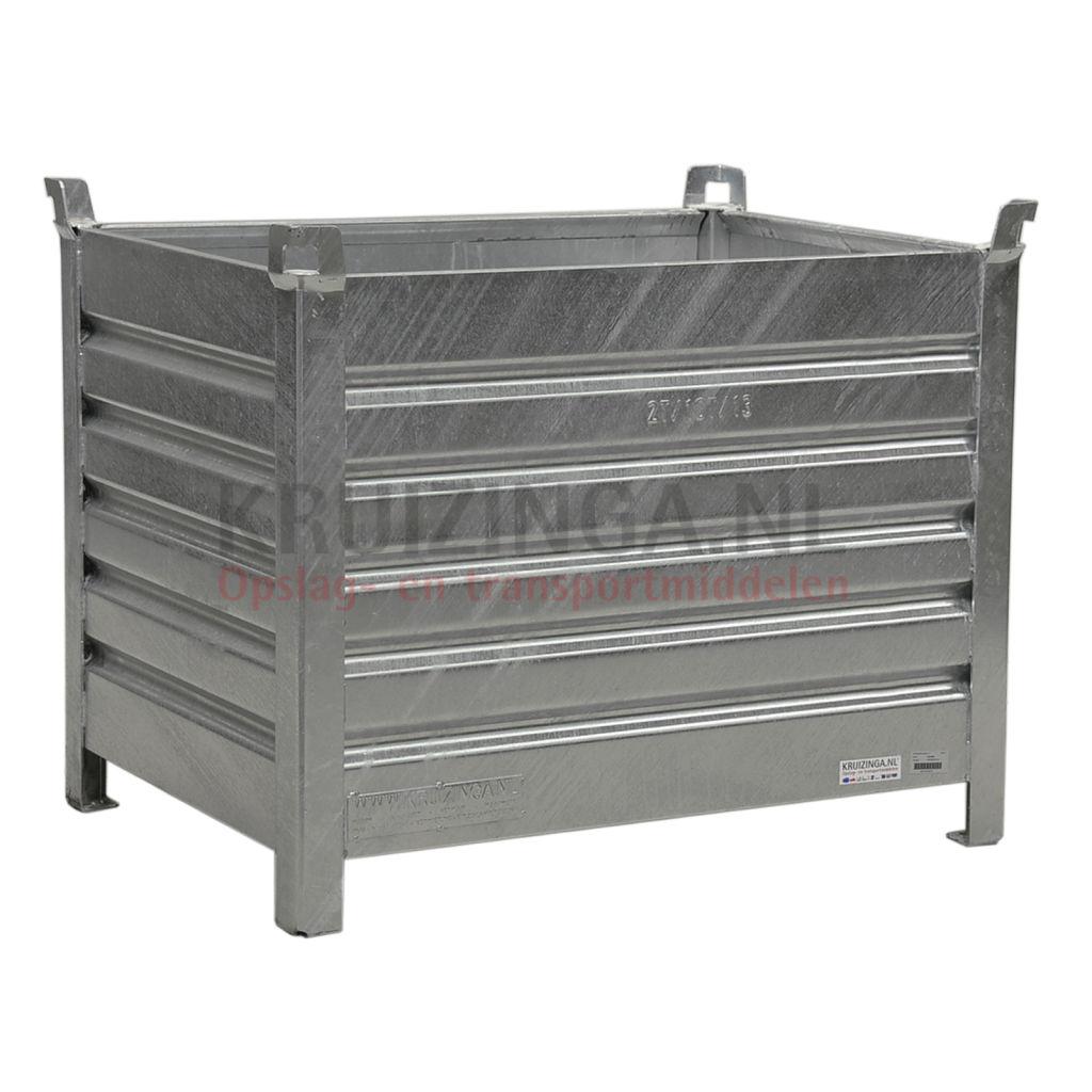 bac de rangement acier construction fixe empilable 4 parois partir de 283 75 frais de. Black Bedroom Furniture Sets. Home Design Ideas