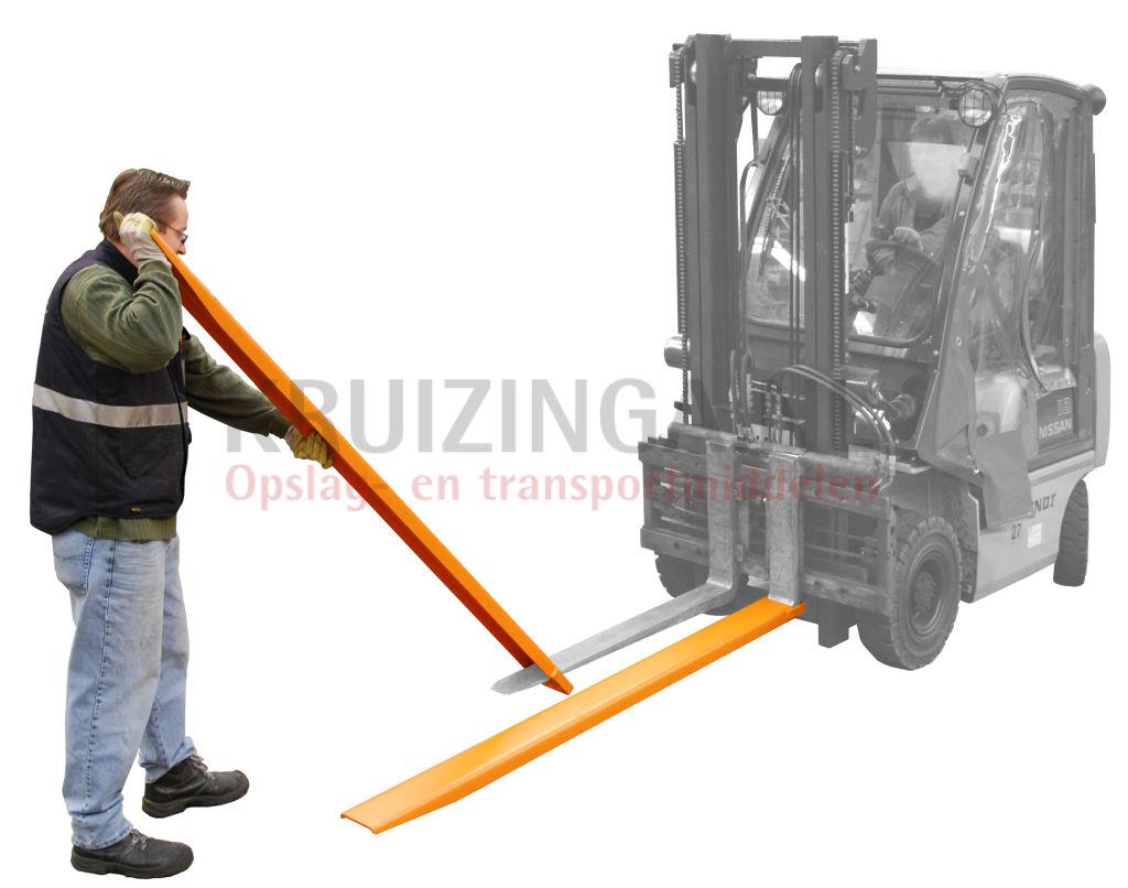 Accessoires pour chariot levateur rallonges de fourches - Appareil pour enlever les fourches ...