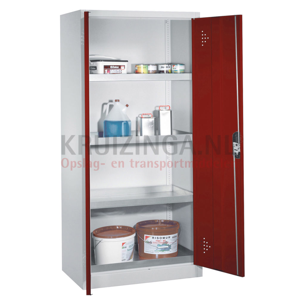 Cabinet Occasional Cabinets With 2 Perforated Hinged Door And 4