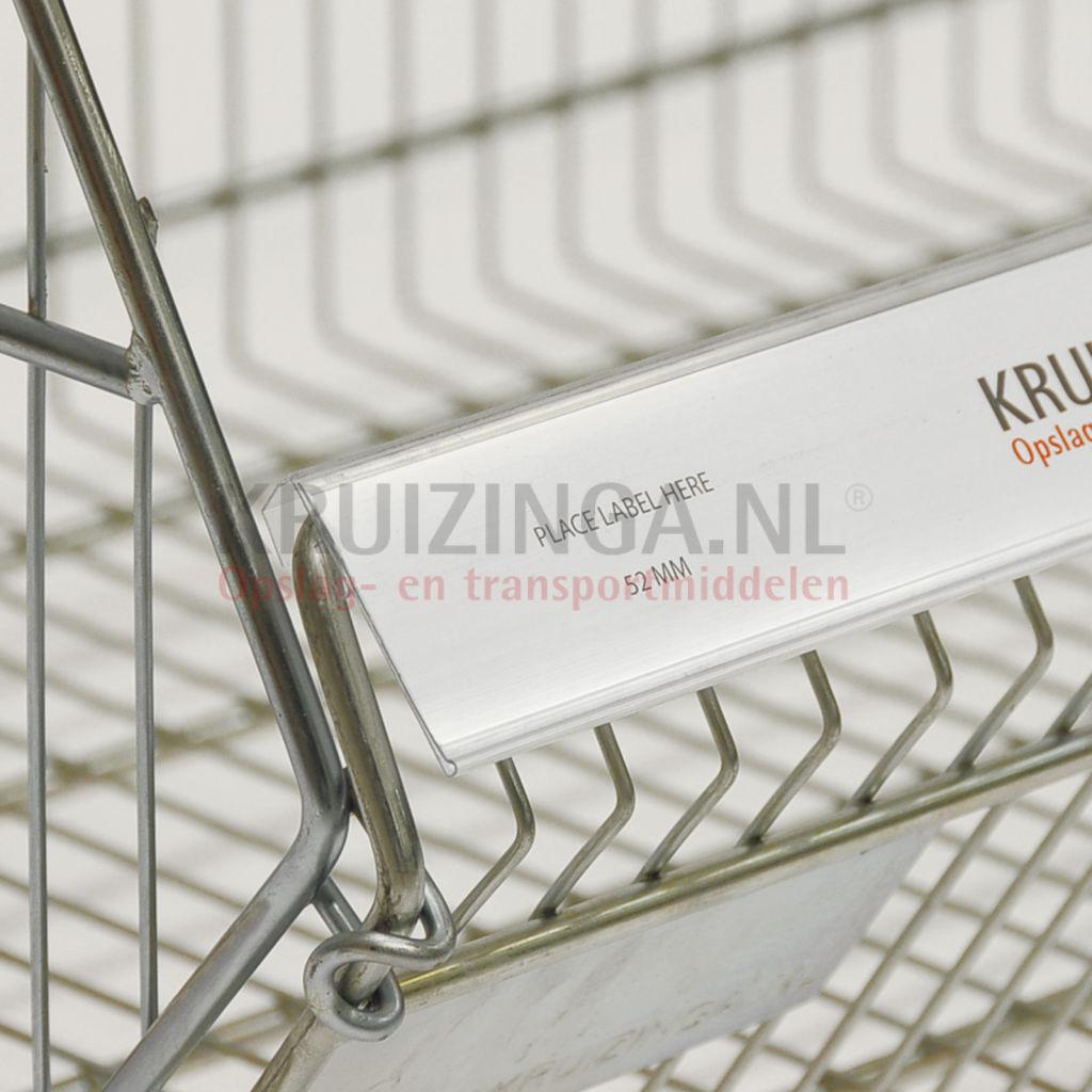 Picture of: Plastic Pocket Label Holder Wire Basket Label Holder From 5 28 Incl Delivery Kruizinga Es