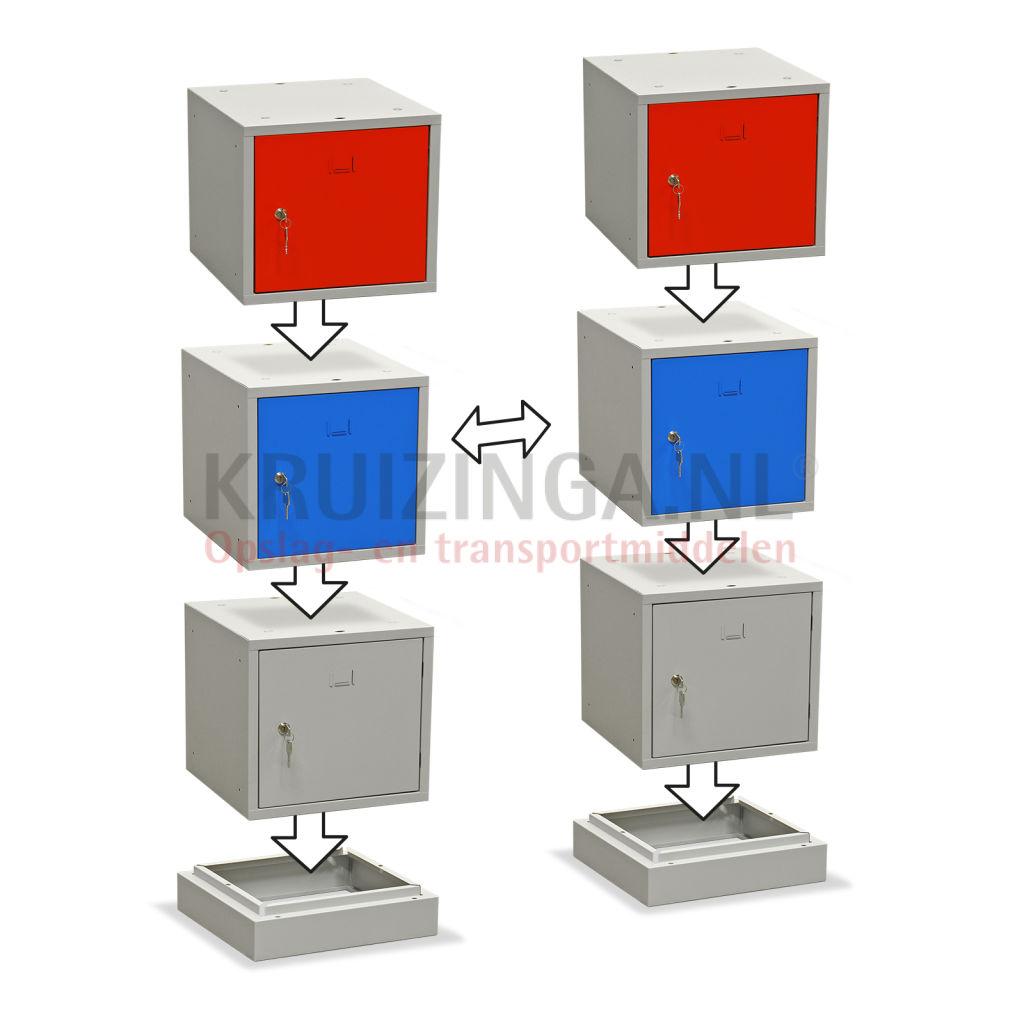 schrank helmschrank 1 t r sektion zylinderschloss 74 50 frei haus. Black Bedroom Furniture Sets. Home Design Ideas