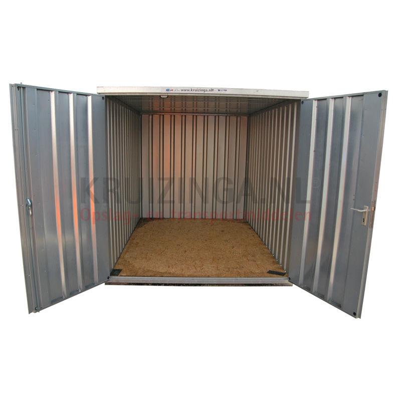 Conteneur conteneur d montable avec fermeture click porte for Porte double battant exterieur occasion