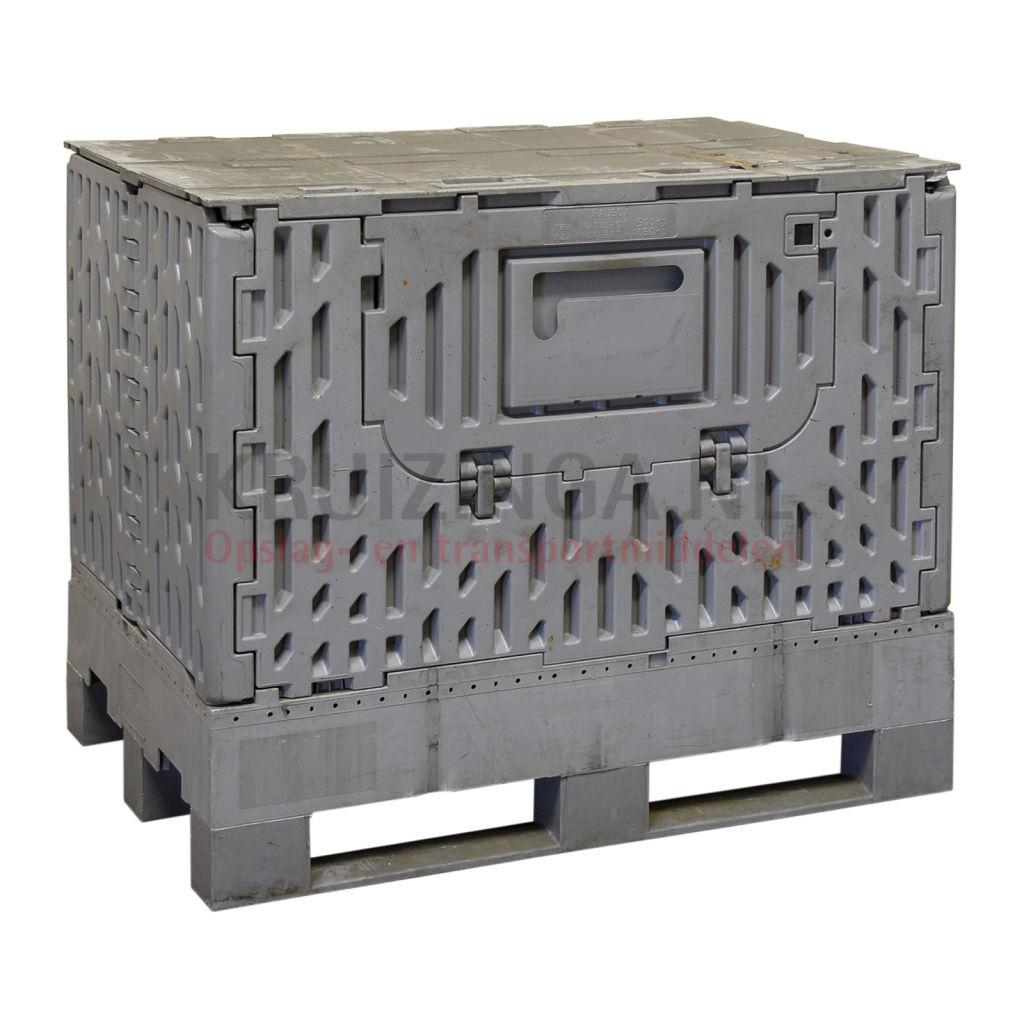 bac de rangement plastique caisse palette rabattable. Black Bedroom Furniture Sets. Home Design Ideas