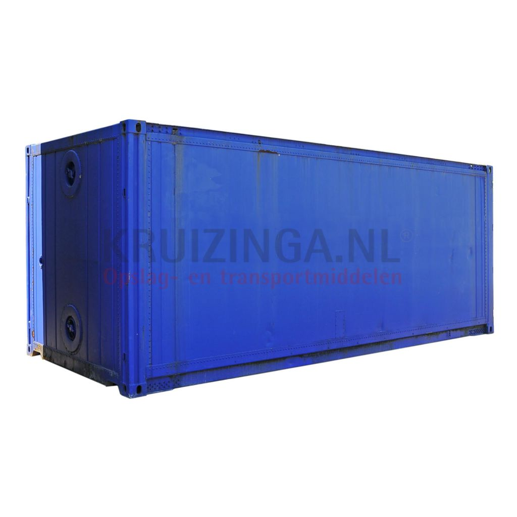 container milieucontainer geisoleerd 20 ft gebruikt. Black Bedroom Furniture Sets. Home Design Ideas