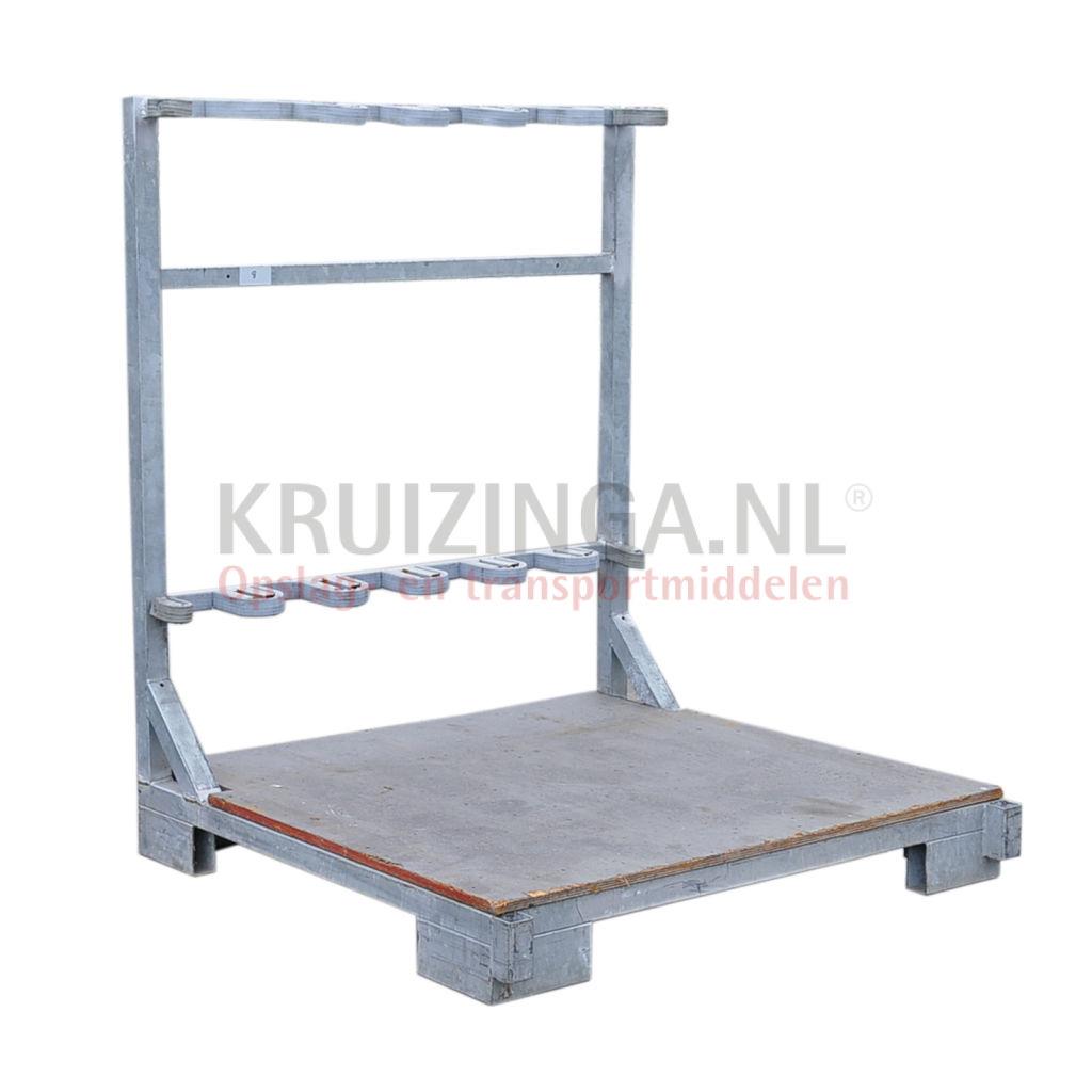 Chariot porte verres et porte panneaux conteneur porte for Conteneur construction