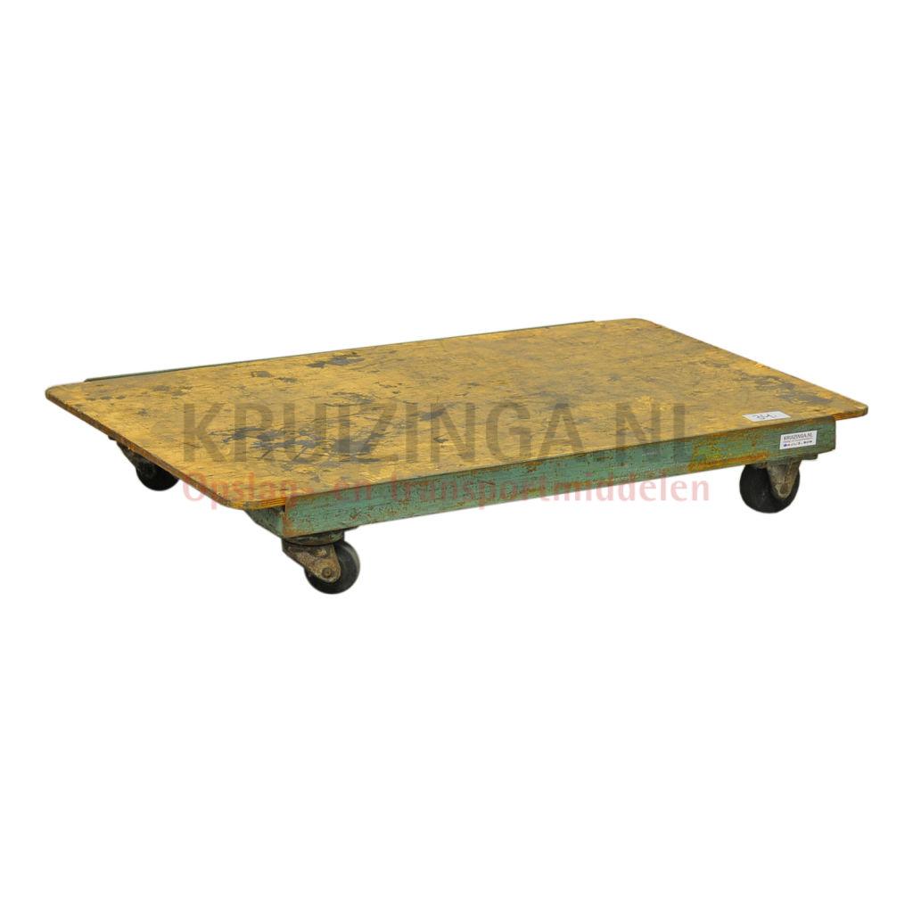 chariot ch ssis plateau roulant en roues occasion 112 50 frais de livraison inclus. Black Bedroom Furniture Sets. Home Design Ideas