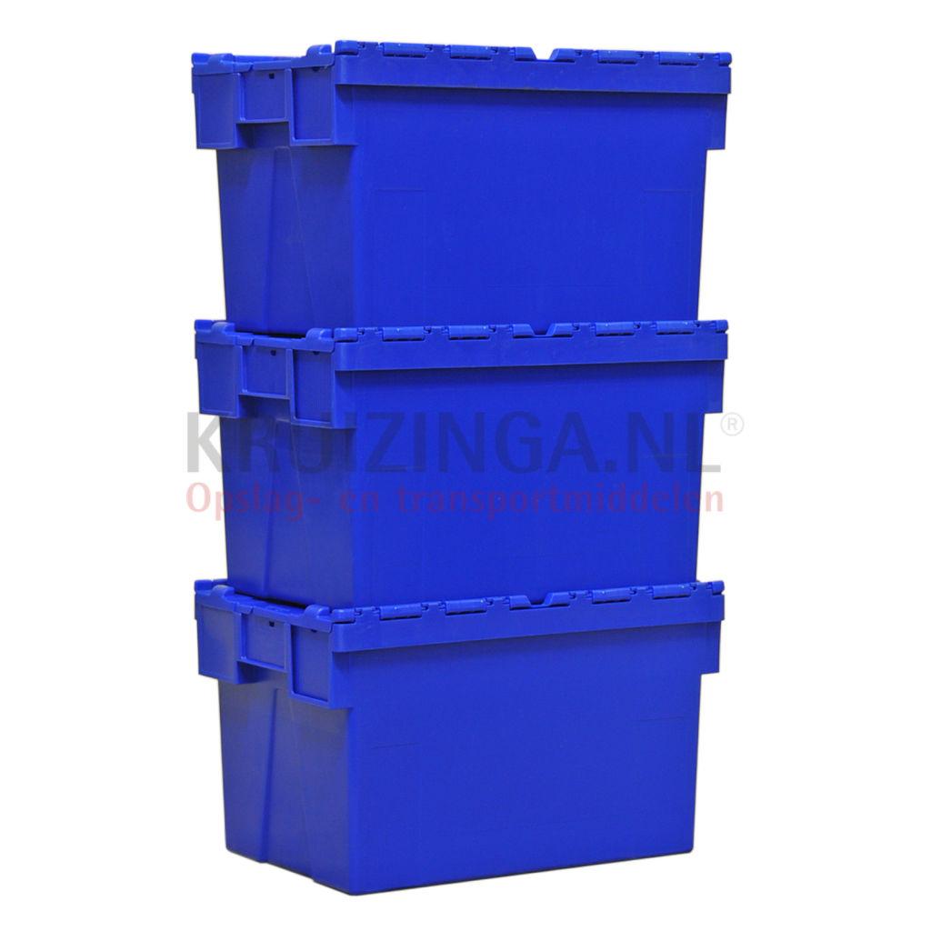 stapelboxen kunststoff schachtel und stapelbar mit 2 teiligem deckel ab 14 25 frei haus. Black Bedroom Furniture Sets. Home Design Ideas