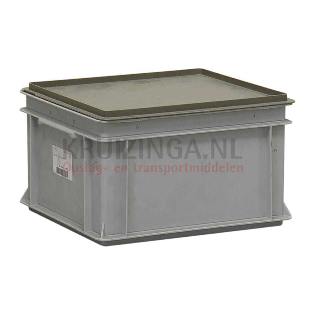 Stapelboxen Kunststoff stapelbar inkl. Deckel Gebraucht