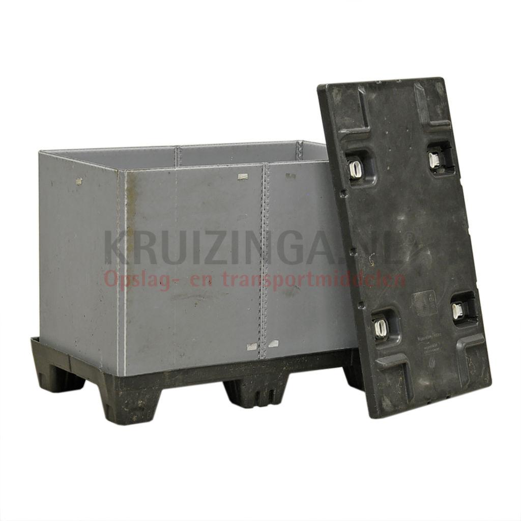 Stapelboxen Kunststoff einklappbar mit Deckel Gebraucht