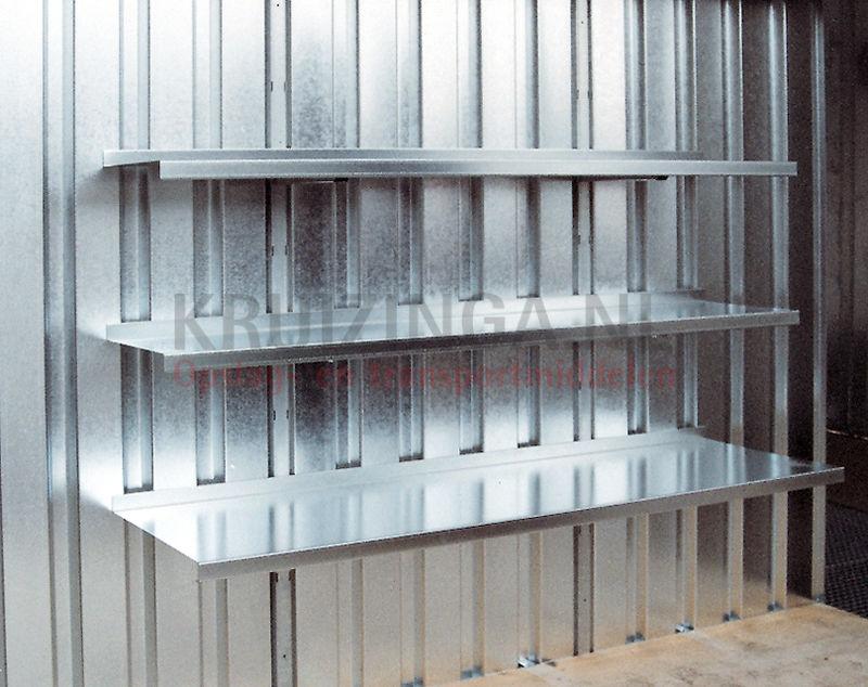 container zubeh r regalst nder vom fachbodenregalsystem 25. Black Bedroom Furniture Sets. Home Design Ideas