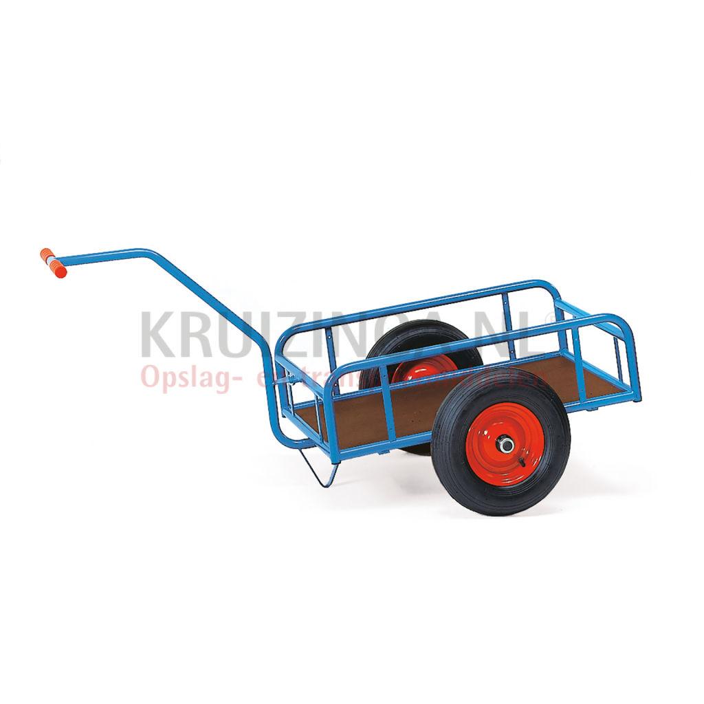 Handwagens Magazijnwagen handtrekwagen laadvlak van ... Multiplex Watervast Prijs