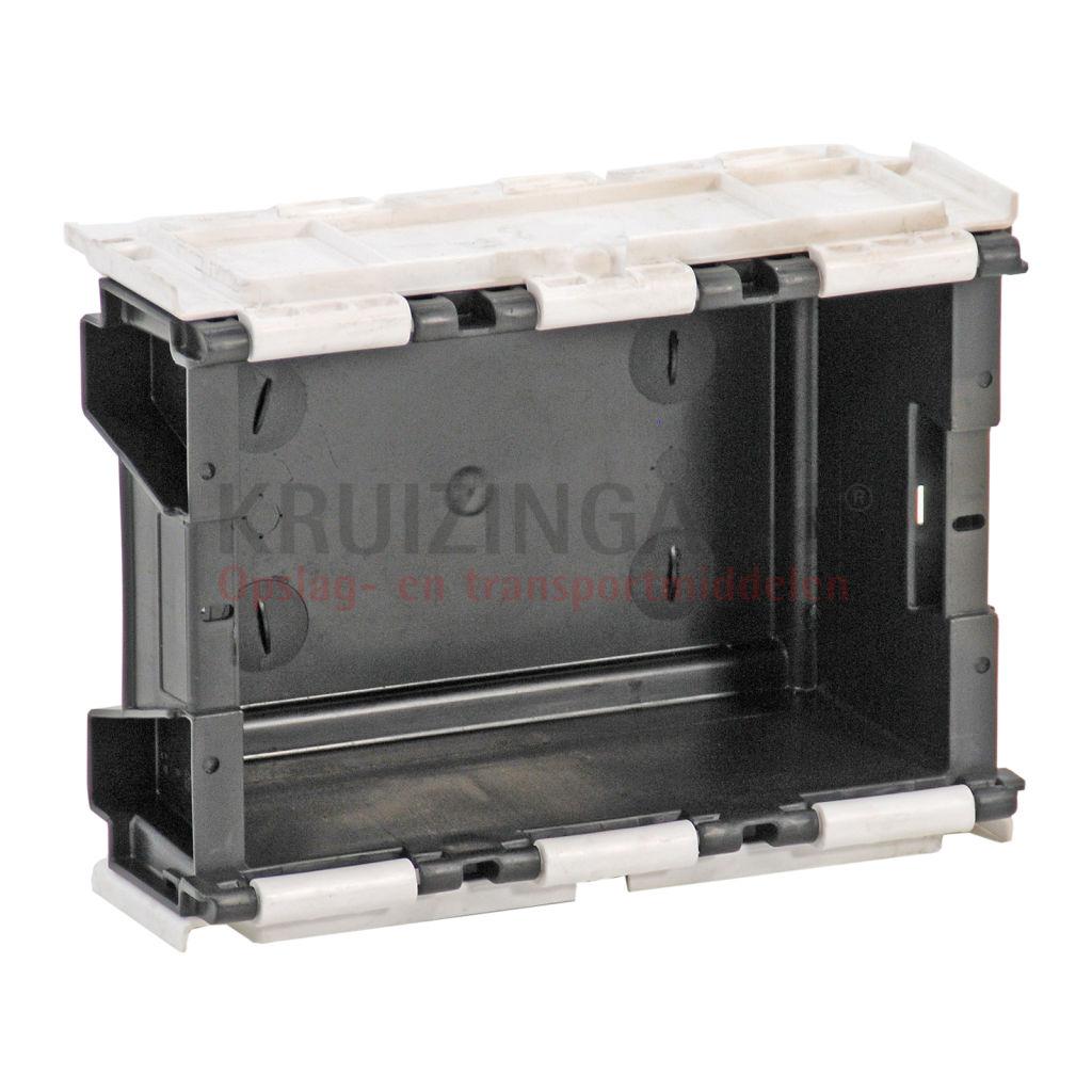 stapelboxen kunststoff palettenangebot mit 2 teiligem. Black Bedroom Furniture Sets. Home Design Ideas