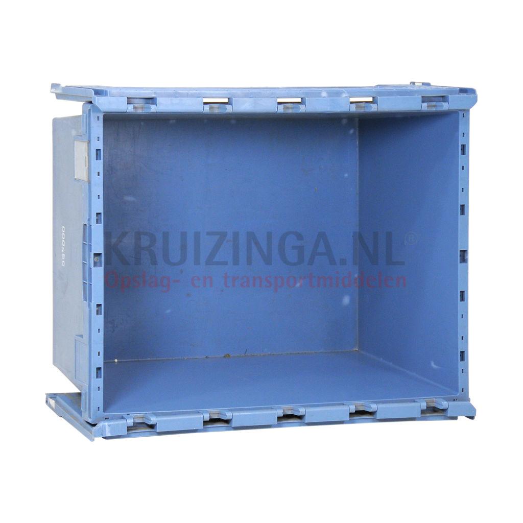 stapelboxen kunststoff palettenangebot mit 2 teiligem deckel gebraucht. Black Bedroom Furniture Sets. Home Design Ideas