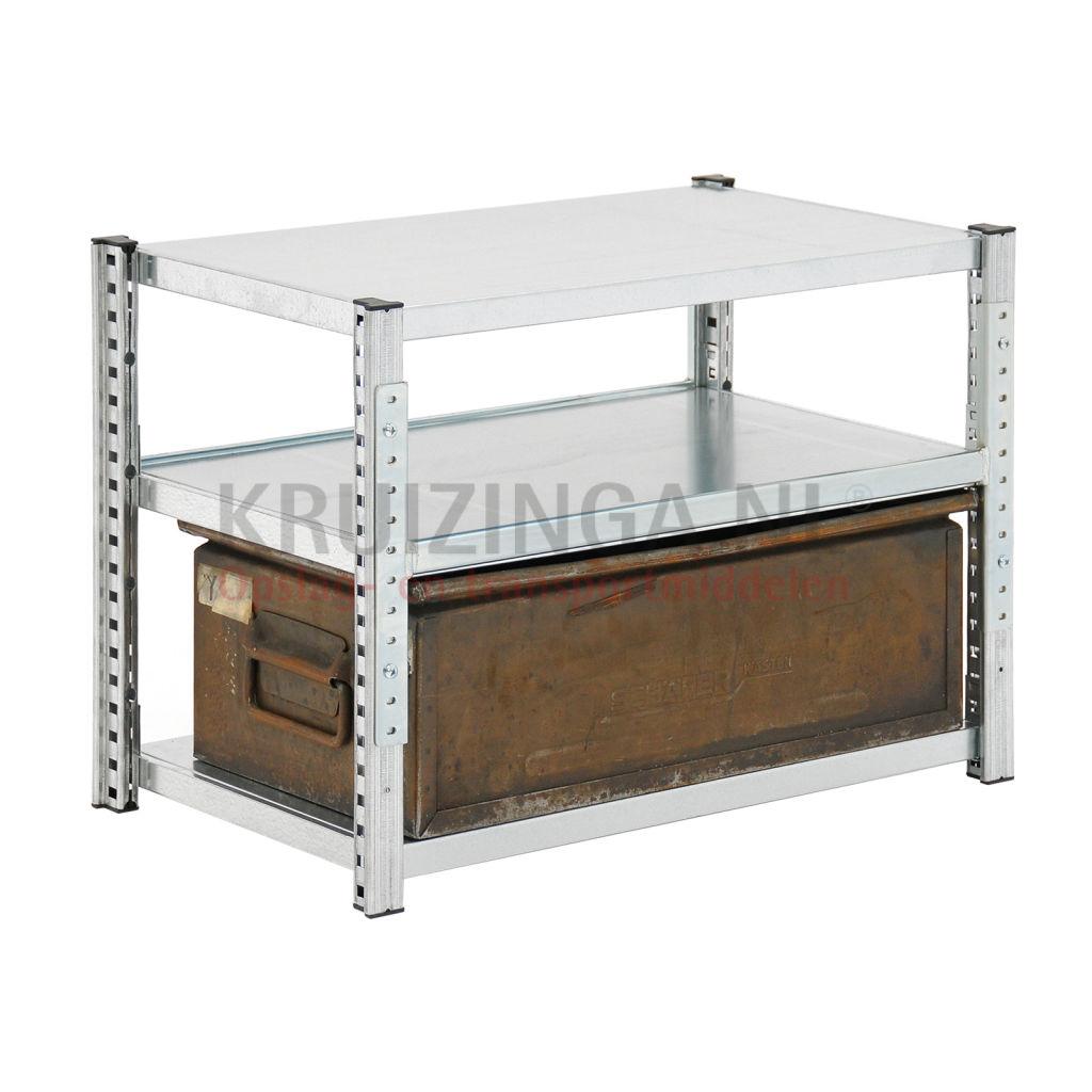 bac a bec en acier armoire pour rayonnage avec 1 bac magasin occasion. Black Bedroom Furniture Sets. Home Design Ideas