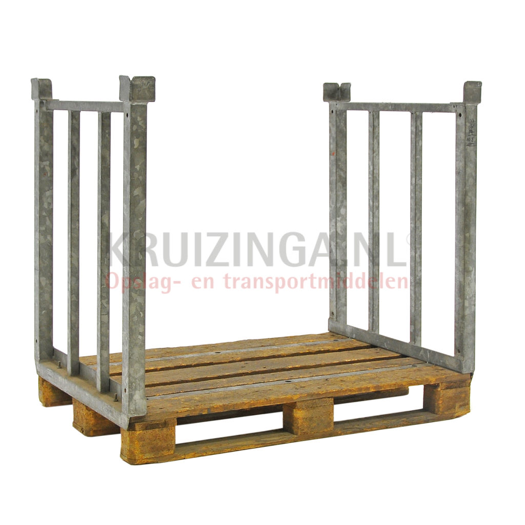 pallet stacking frames fixed construction pallet included Used € 39 ...