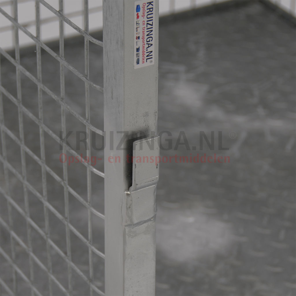 Transport container fixed construction stackable with for Construction container belgique