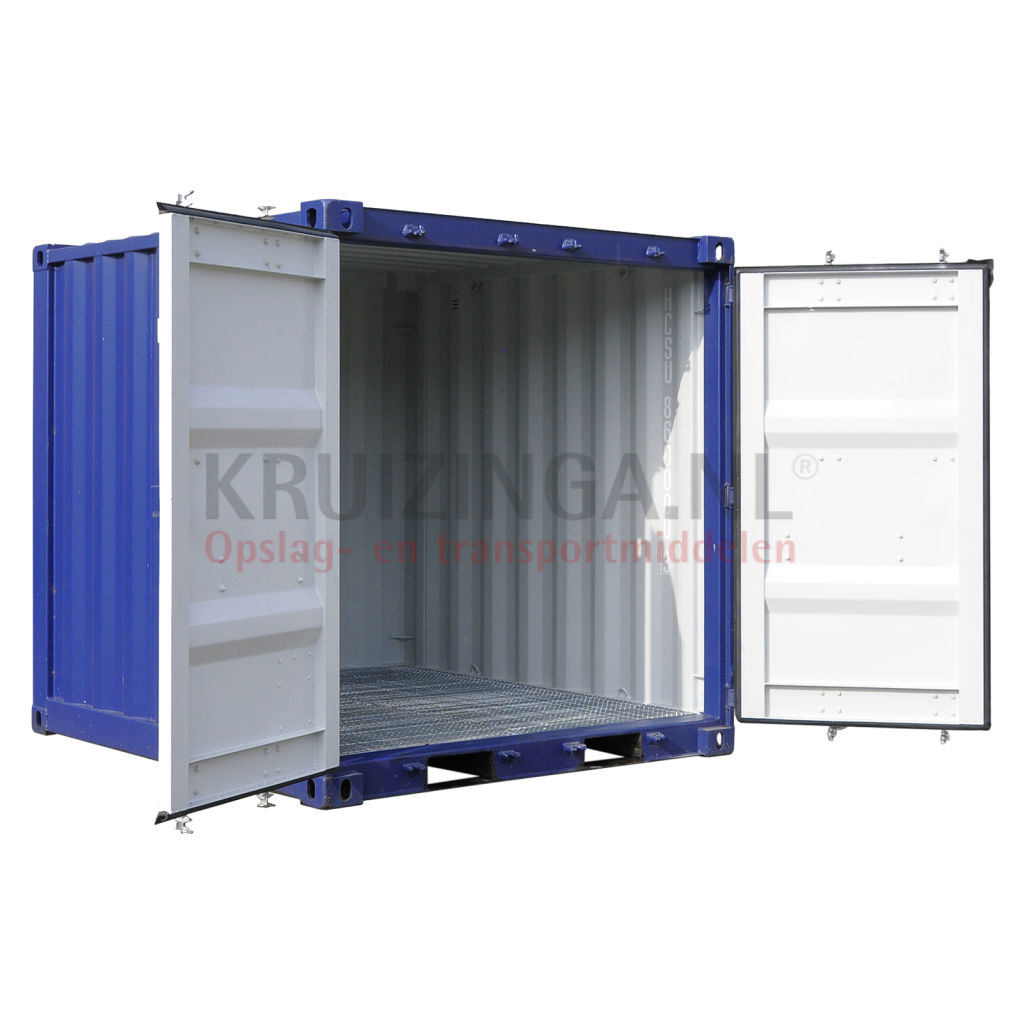 container materialcontainer 8 ft inkl auffangbeh lter. Black Bedroom Furniture Sets. Home Design Ideas