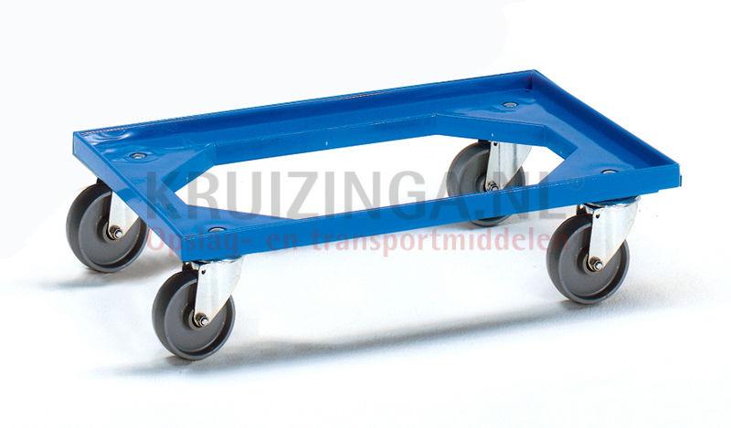 chariot ch ssis plateau roulant 4 roues pivotantes avec frein. Black Bedroom Furniture Sets. Home Design Ideas