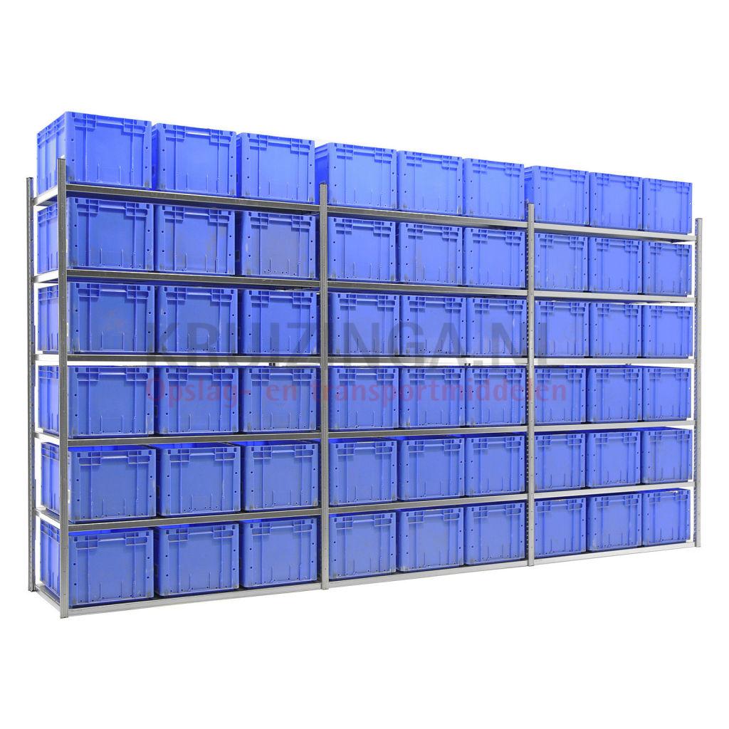 kombination satz regale kombination satz fachbodenregal inkl 54 stapelboxen gebraucht ab 710. Black Bedroom Furniture Sets. Home Design Ideas