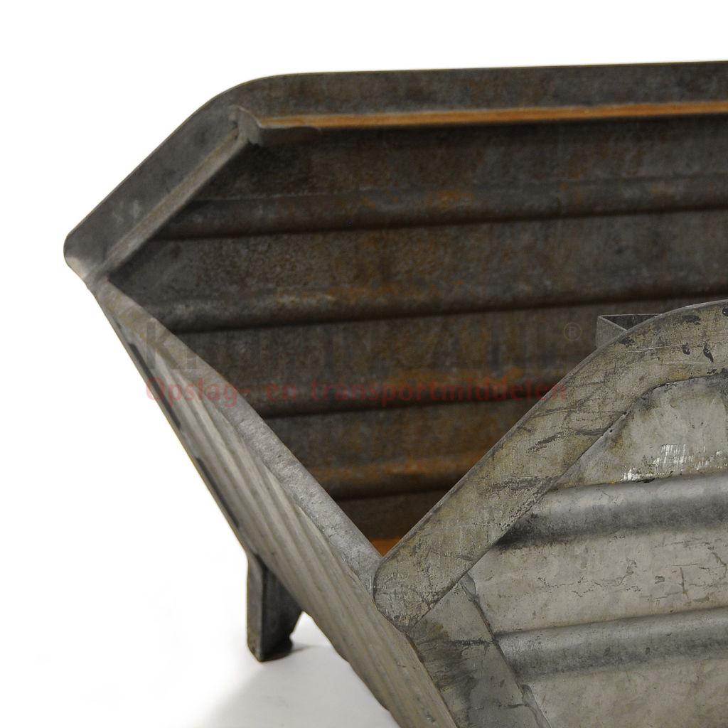 bac de rangement acier construction compact poign e inclin occasion. Black Bedroom Furniture Sets. Home Design Ideas