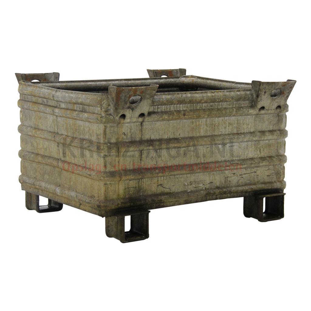 bac de rangement acier gerbable tous les parois ferm es occasion. Black Bedroom Furniture Sets. Home Design Ideas