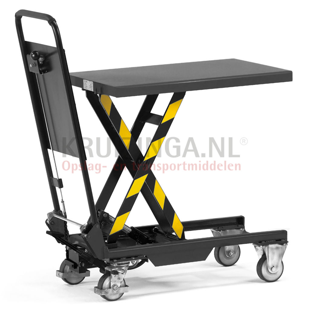 New Pallet truck Mobile lifting table Push bracket, foldable