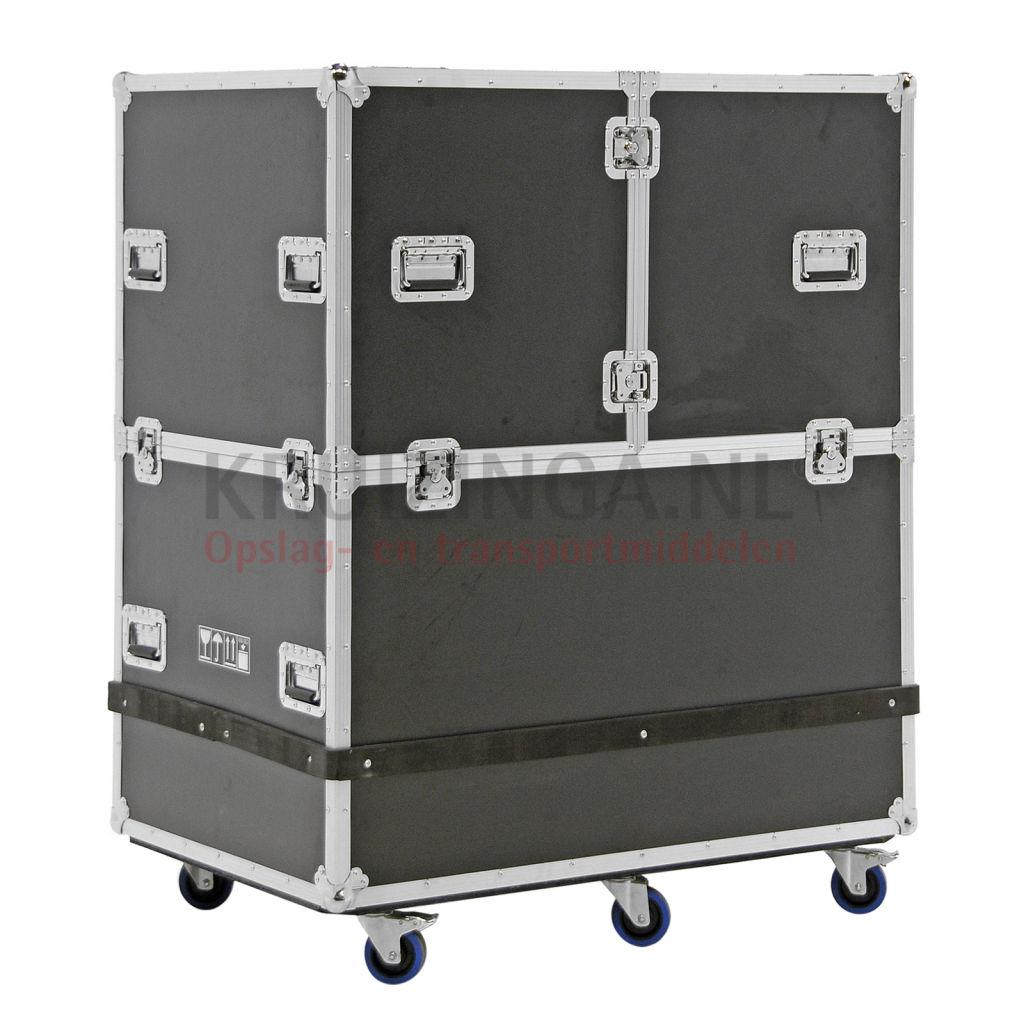 transportkoffer transportbeh lter auf r dern mit doppelte schnellverschlu und handgriffe. Black Bedroom Furniture Sets. Home Design Ideas