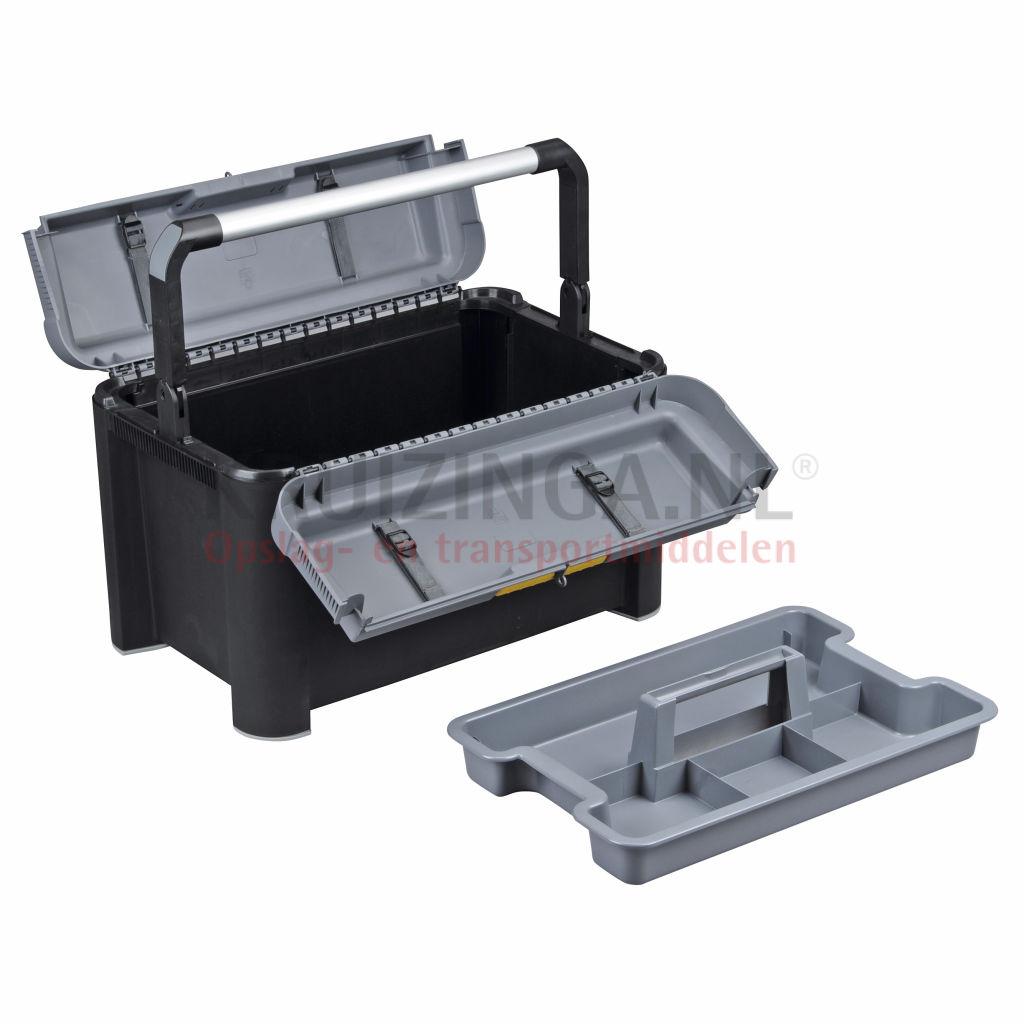 mallette de transport box securit pour outils avec poign e de s curit partir de 56 50. Black Bedroom Furniture Sets. Home Design Ideas
