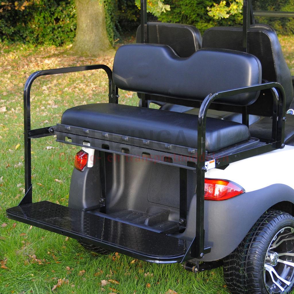 Golf Cart Accessories For Club Car Precedent Folding Rear Seat