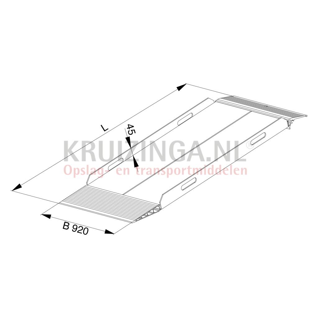 verladeschienen auffahrrampen auffahrrampe aluminium 400 cm pro st ck 1604 50 frei haus. Black Bedroom Furniture Sets. Home Design Ideas