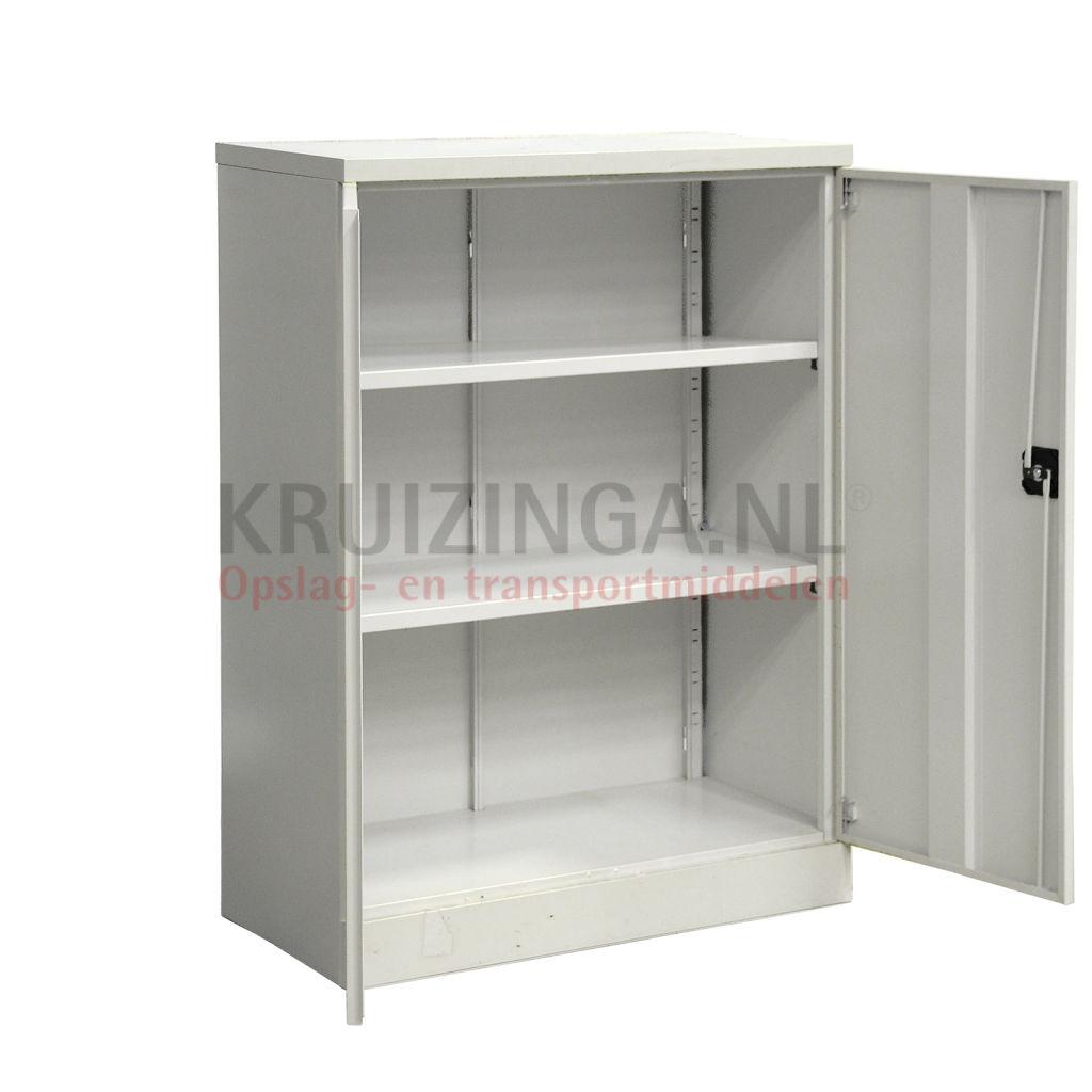 Schrank materialschr nk mit 2 etagen gebraucht for Schrank gebraucht