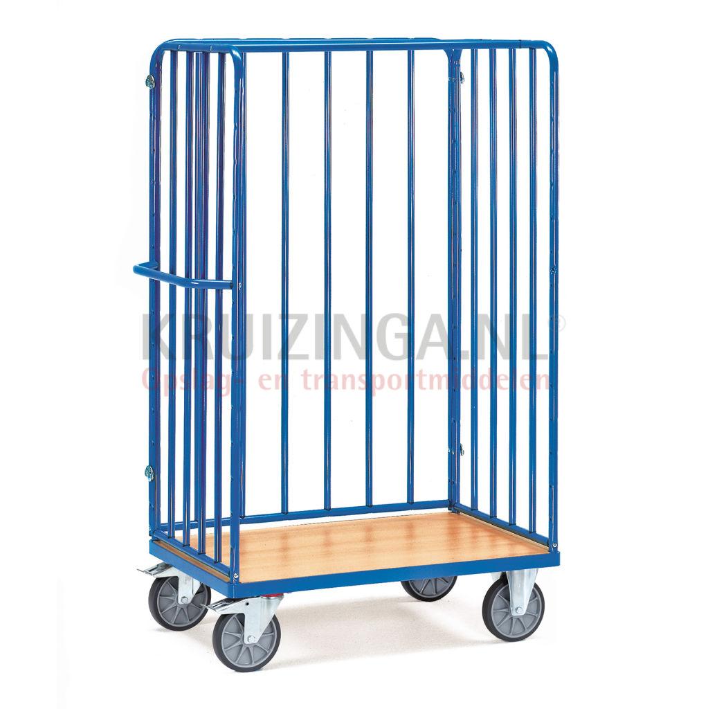 chariots plateaux chariot de manutention chariot pour colis 2 parois et 1 paroi arri re 353. Black Bedroom Furniture Sets. Home Design Ideas