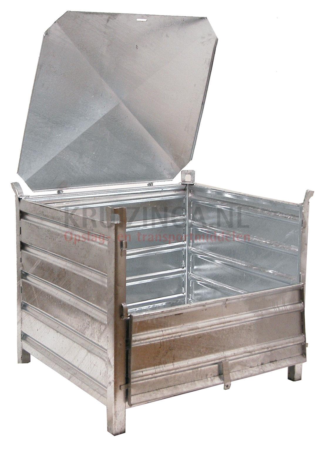 stapelboxen stahl feste konstruktion stapelbeh lter mit