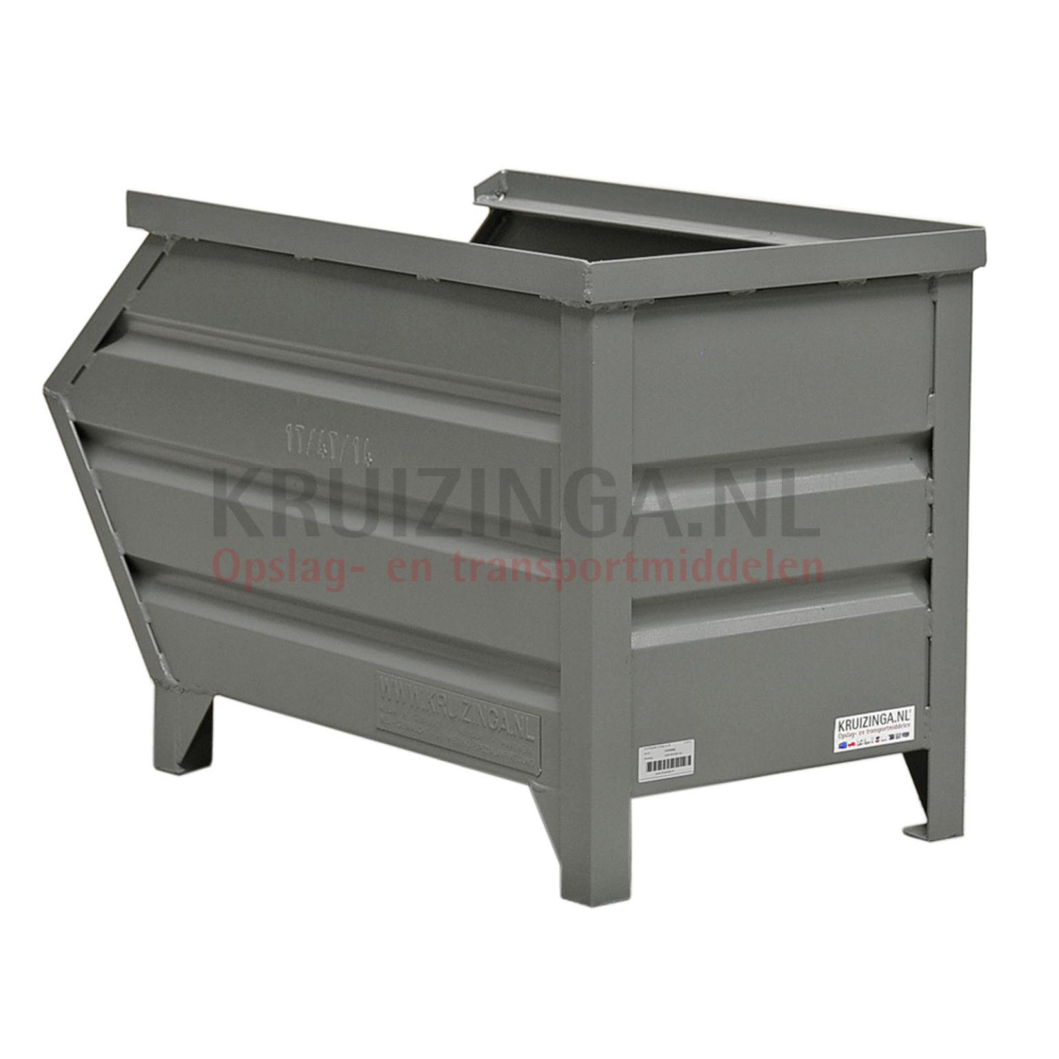 bac de rangement acier construction robuste bac empilable avec poign es partir de 158. Black Bedroom Furniture Sets. Home Design Ideas