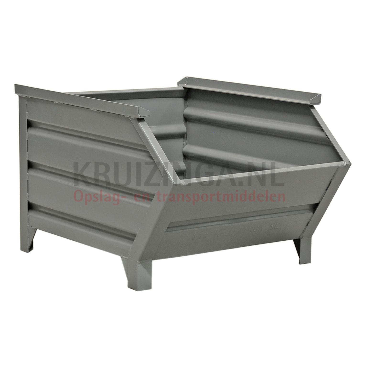 bac de rangement acier construction robuste bac empilable poign e inclin partir de 159. Black Bedroom Furniture Sets. Home Design Ideas