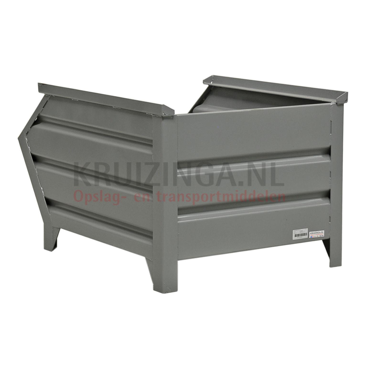 bac de rangement acier construction robuste bac empilable poign e inclin partir de 187. Black Bedroom Furniture Sets. Home Design Ideas