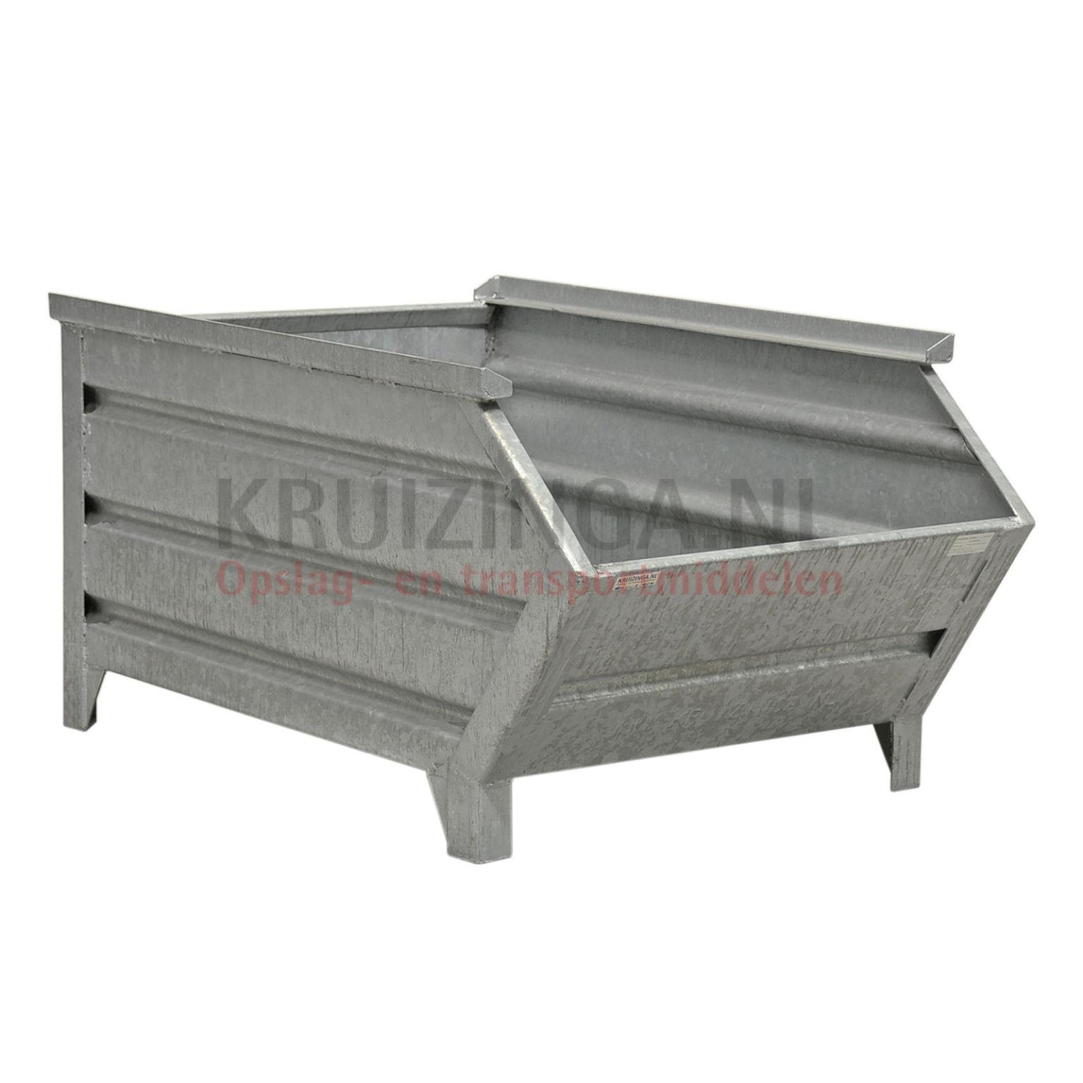 bac de rangement acier construction robuste bac empilable poign e inclin partir de 218. Black Bedroom Furniture Sets. Home Design Ideas