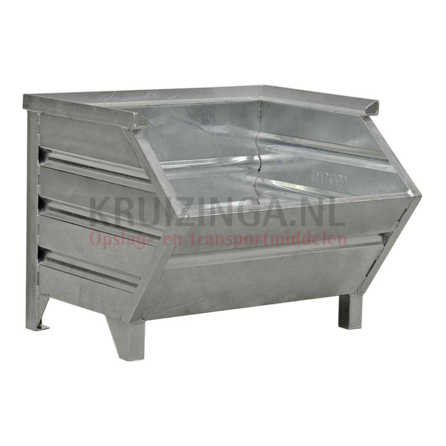 bac de rangement acier construction robuste bac empilable poign e inclin partir de 163 50. Black Bedroom Furniture Sets. Home Design Ideas