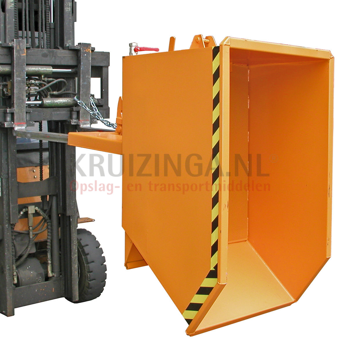 Automatic tilting tilting container wood chips container for Construction container belgique