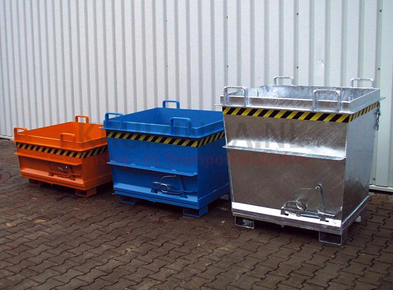 Hopper tilting container hopper conical construction shape for Construction container belgique