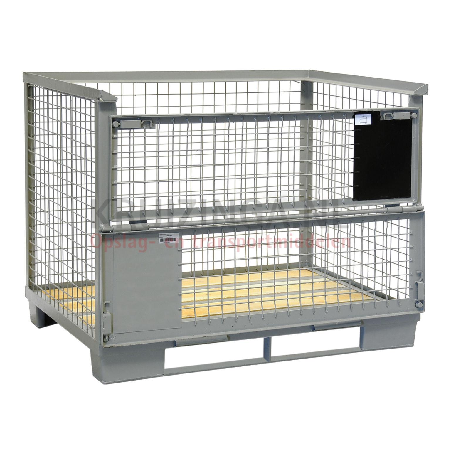 gitterbox feste konstruktion mit kufen ab 155 frei haus. Black Bedroom Furniture Sets. Home Design Ideas