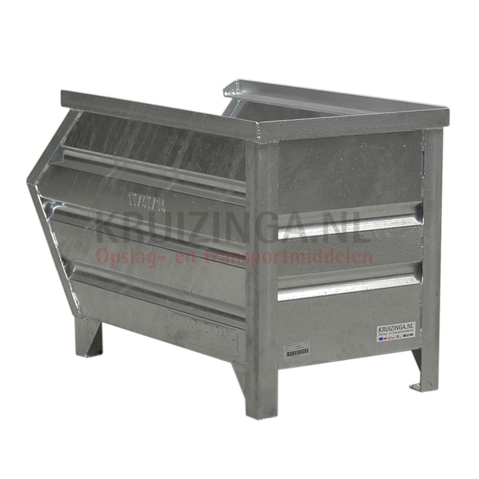 bac de rangement acier construction robuste bac empilable avec poign e partir de 182 50. Black Bedroom Furniture Sets. Home Design Ideas
