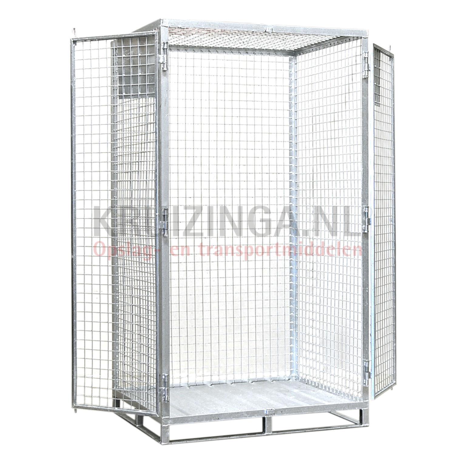 gitterbox anti diebstahl 2 t ren ab 495 50 frei haus. Black Bedroom Furniture Sets. Home Design Ideas
