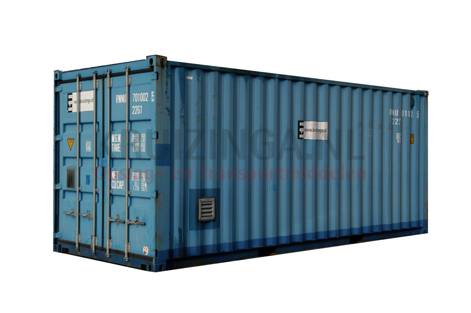 container umweltcontainer 20 fu gebraucht 3950. Black Bedroom Furniture Sets. Home Design Ideas