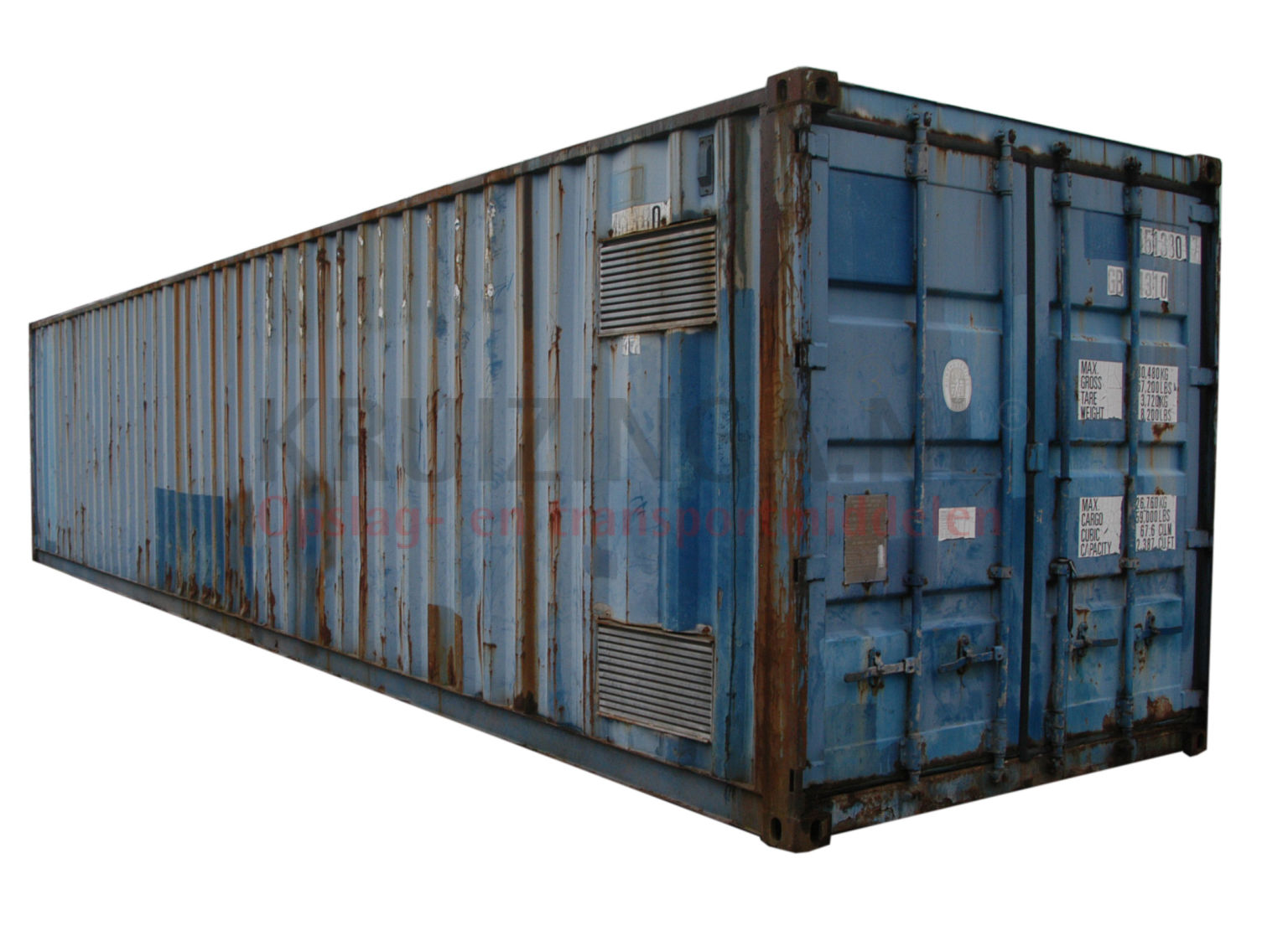 container materialcontainer 40 fu b qualit t gebraucht 1950. Black Bedroom Furniture Sets. Home Design Ideas