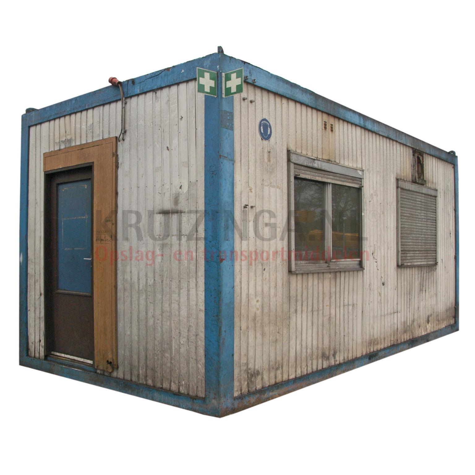 container b rocontainer 20 fu gebraucht 750. Black Bedroom Furniture Sets. Home Design Ideas