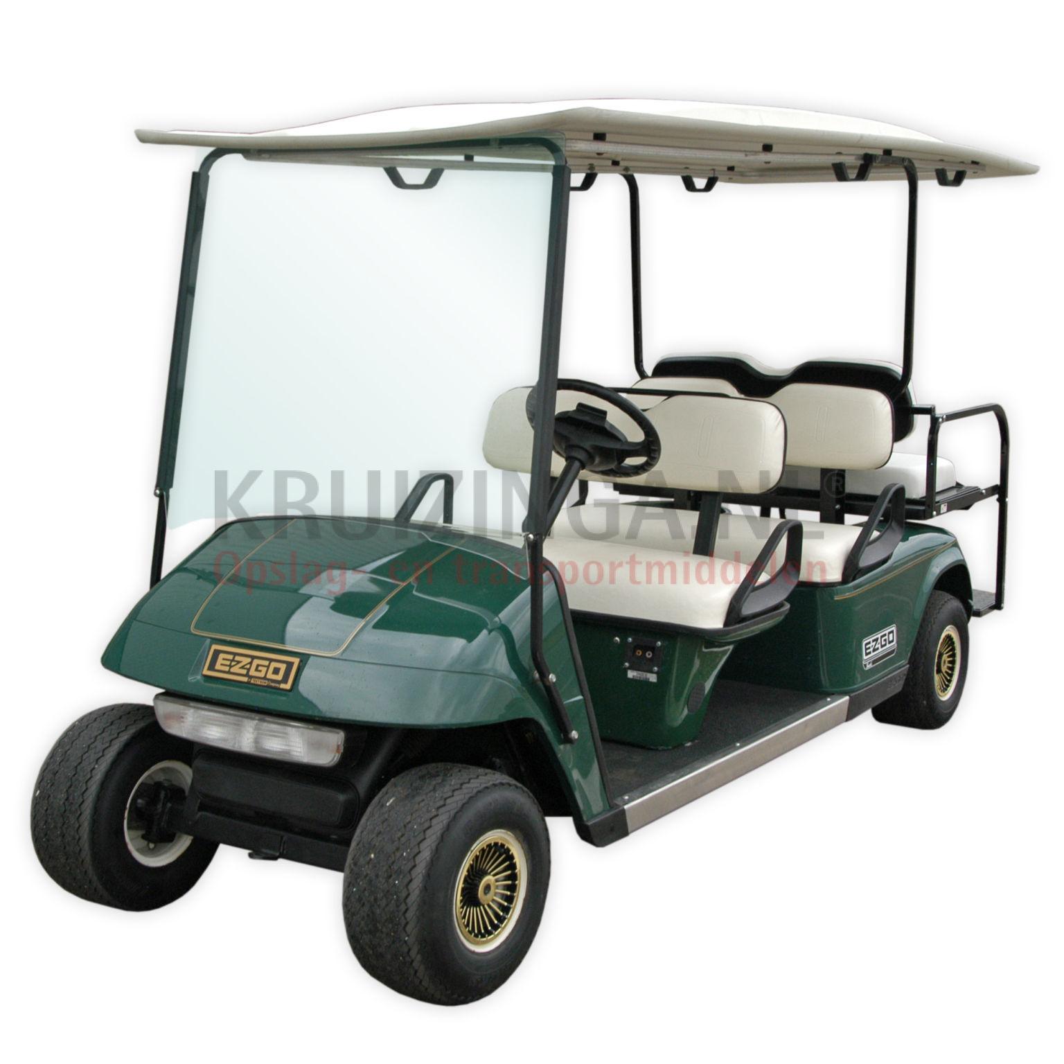 golfwagen e z go f r 6 personen elektrisch gebraucht. Black Bedroom Furniture Sets. Home Design Ideas