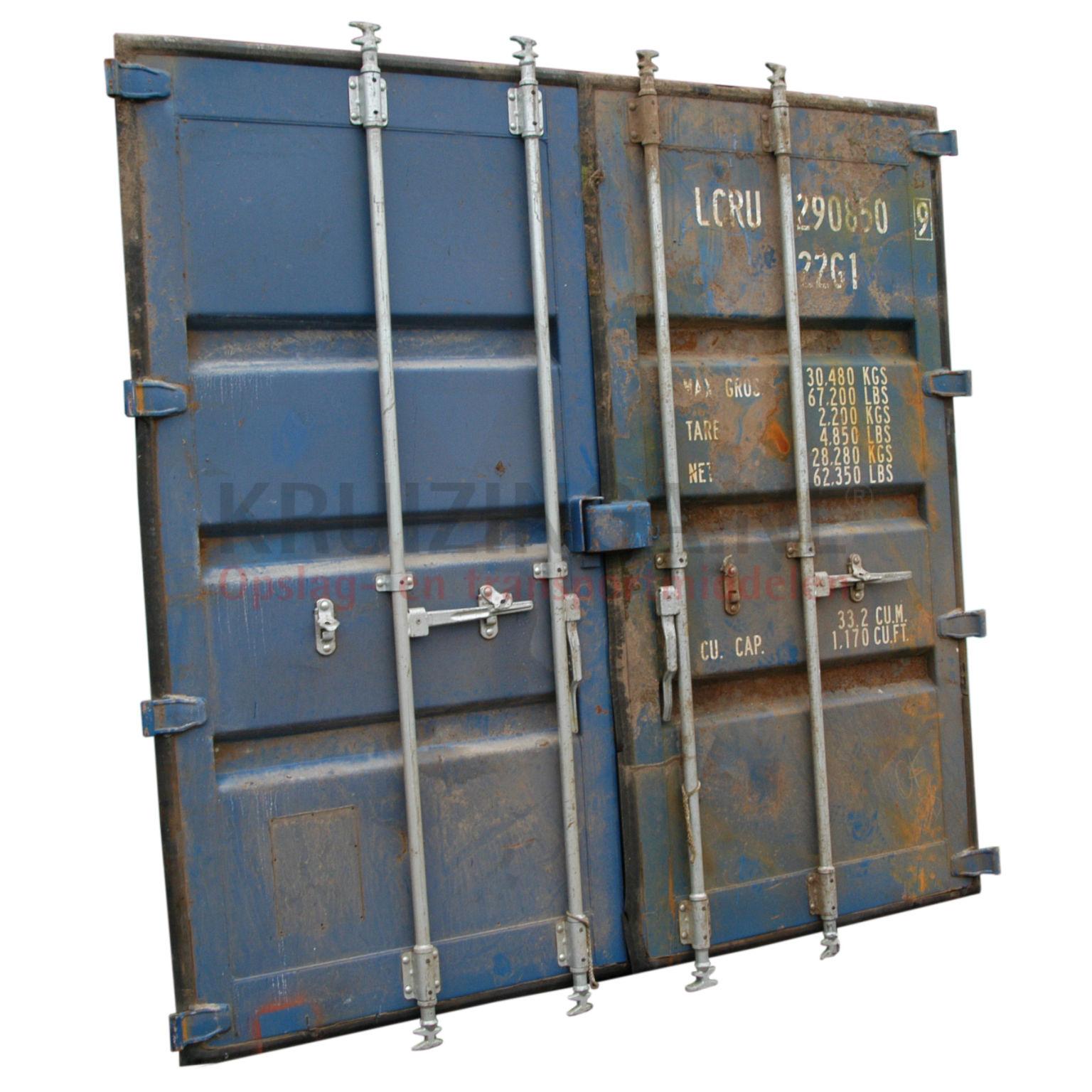 container container t ren t ren gebraucht. Black Bedroom Furniture Sets. Home Design Ideas