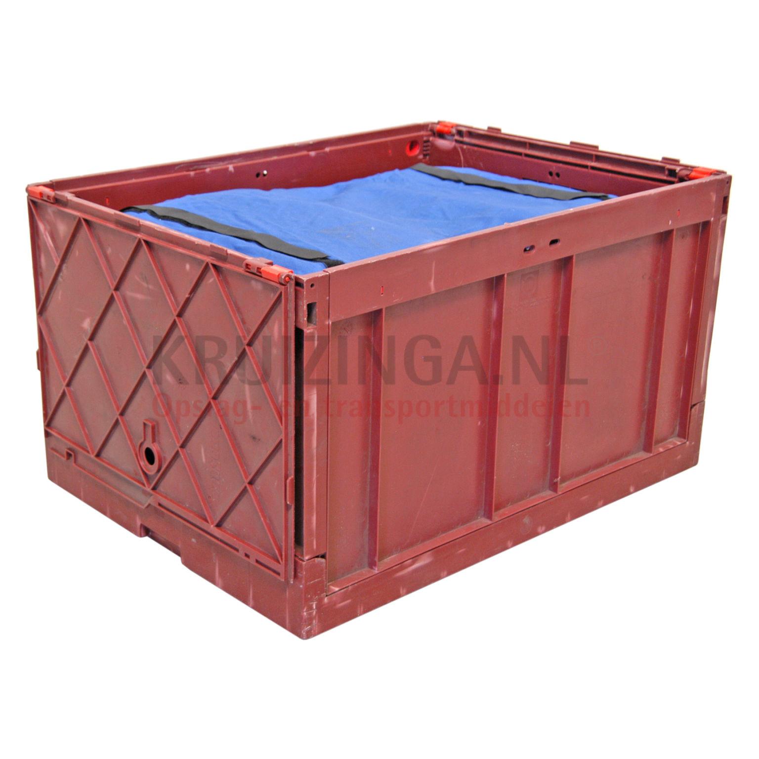 stapelboxen kunststoff einklappbar alle w nde geschlossen deckel gebraucht. Black Bedroom Furniture Sets. Home Design Ideas